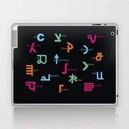 C in Scripts Around the World /I Laptop & iPad Skin
