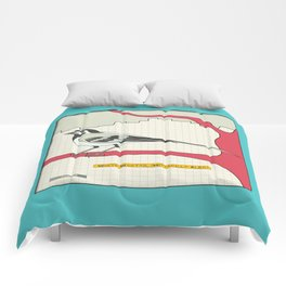 White Wagtail Comforters