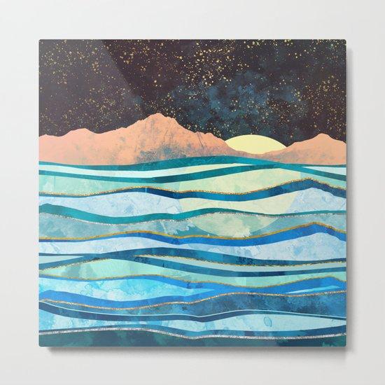 Celestial Sea Metal Print