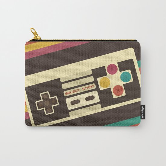 Retro Video Game 2 Carry-All Pouch