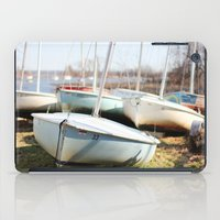 boats iPad Cases featuring Boats by myhideaway