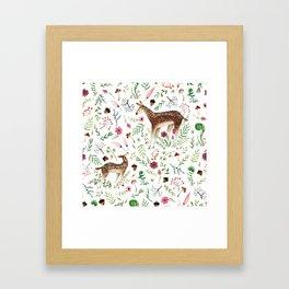 You're a Deer Framed Art Print