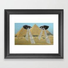 Fantasy eyes Framed Art Print