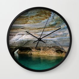 Pictured Rocks National Lakeshore Wall Clock