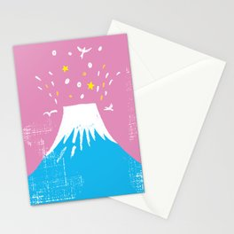 """Symbol of happiness """"Mount Fuji"""" Japan Stationery Cards"""
