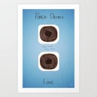Punch Drunk Love Fan Art Art Print
