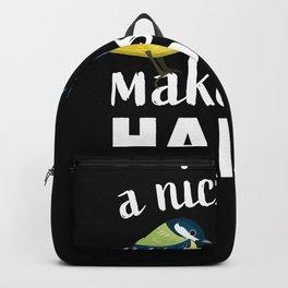 Ornithology Birdwatching Bird lover Gift Backpack