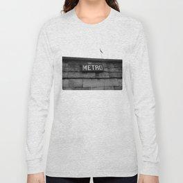 Paris Metro Long Sleeve T-shirt