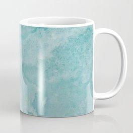 Turquoise Sea Marble Coffee Mug