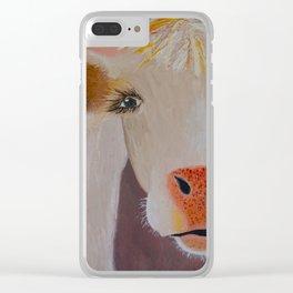 Rosealinda Clear iPhone Case