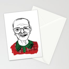 Christmas Grandpa Stationery Cards