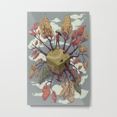 Fall Perspectives Metal Print