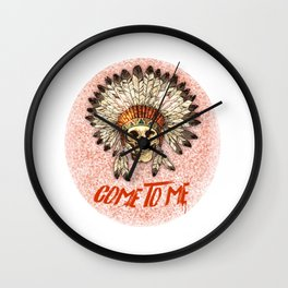 Halloween Edition: Come To Me Wall Clock