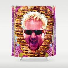 guy fieri's dank frootie glaze Shower Curtain