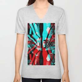 Dispersion Unisex V-Neck