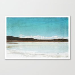 Peaking Cloud Canvas Print