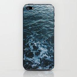 Dark #Sea iPhone Skin