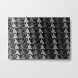 Polly Pattern Metal Print