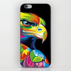 Abstract Pop Art Eagle Owl iPhone & iPod Skin