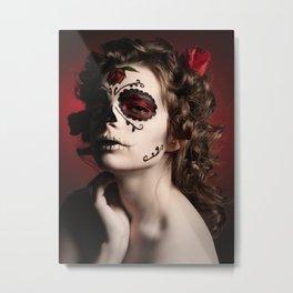 Día de los Muertos Metal Print