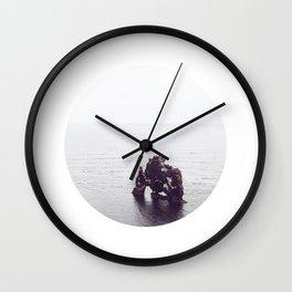 Hvítserkur, Iceland Wall Clock
