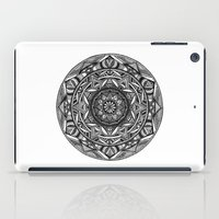 spiritual iPad Cases featuring Spiritual Mandala by msimona