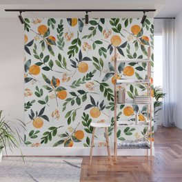 Orange Grove Wall Mural