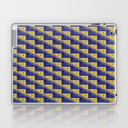 Kendall Snowflakes by Starlight Laptop & iPad Skin