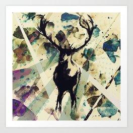 Ohh deer Art Print