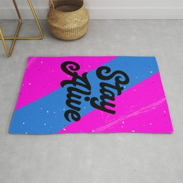 Stay Alive Rug
