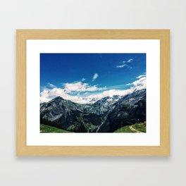 Kandersteg Framed Art Print