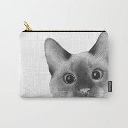 Siamese sneak-a-peek Carry-All Pouch