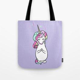 NAMASTE Unicorn Tote Bag