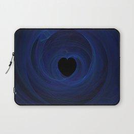 Valentine's Fractal III - Dark Laptop Sleeve