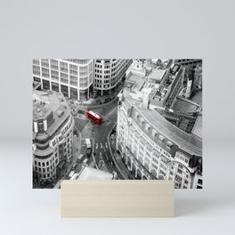 Red Bus of London Mini Art Print