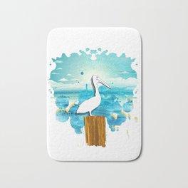 Pelican Summer Bath Mat