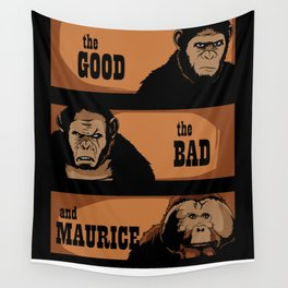 The good, the bad, and Maurice Wall Tapestry