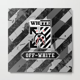 off white bape nois Metal Print