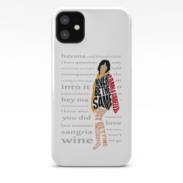 Camila Cabello Havana iphone case