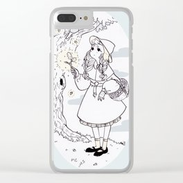 Acorn Witch Clear iPhone Case