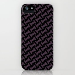 Dr. Who #11 tie pattern iPhone Case