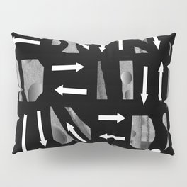 Arrows and Direction Pillow Sham