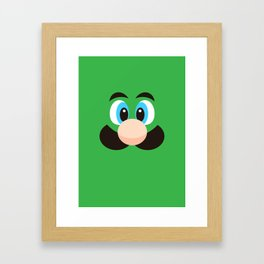 Super Bros. P2 Framed Art Print