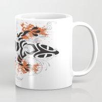 lizard Mugs featuring Lizard by Sitchko Igor