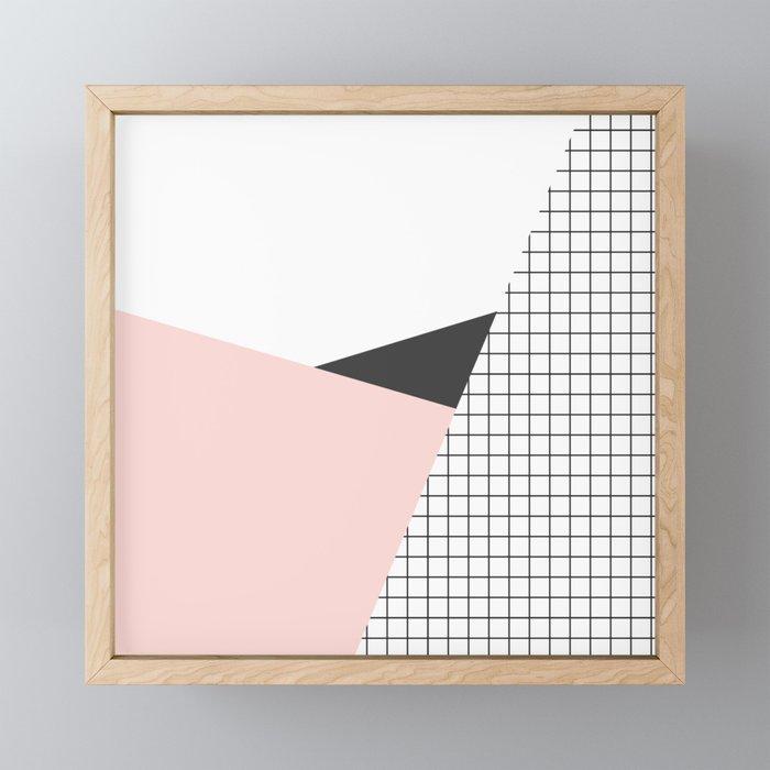its simple Framed Mini Art Print