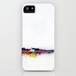 Frozen - Small Abstract Landscape iPhone Case