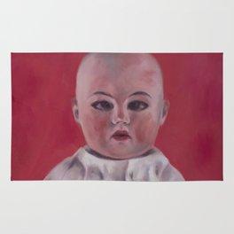 Doll portrait Rug