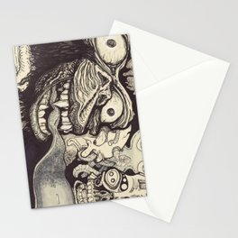 A wrong turn Stationery Cards