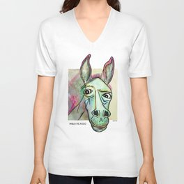 Pablo Pic-Ass-O Unisex V-Neck
