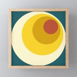 Anumati - Classic 70s Retro Style Framed Mini Art Print